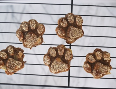 Easy 3 Ingredient Dog Treats